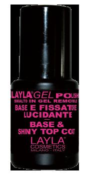 Base & Top Laylagel Polish 14 ml.