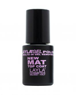 Mat top coat Laylagel Polish 14 ml.