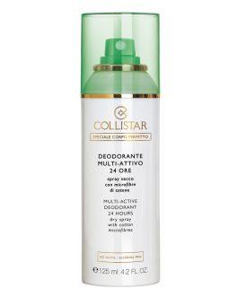 Deodorante Multi-Attivo 24 ore Spray Secco con Microfibre di cotone Collistar